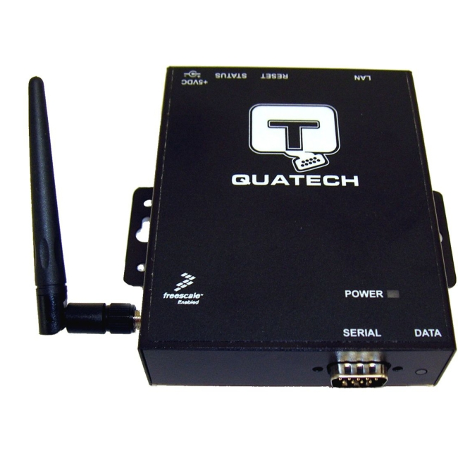 QUATECH 1 Port RS-232/422/485 Airborne Industrial Wireless Device Server SSEW-400D
