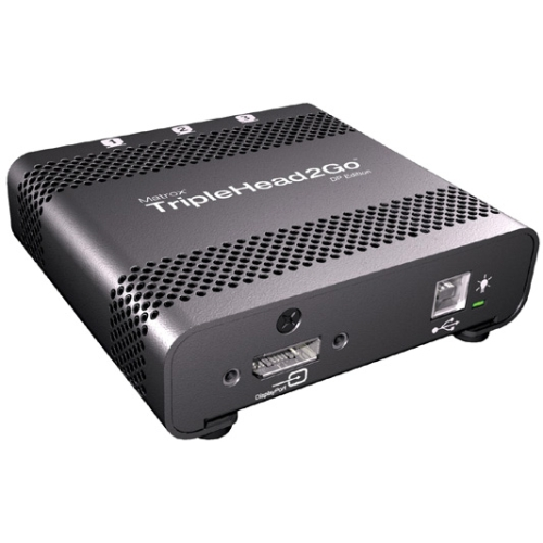 Matrox TripleHead2Go DP Edition Graphics Card T2G-DP-MIF