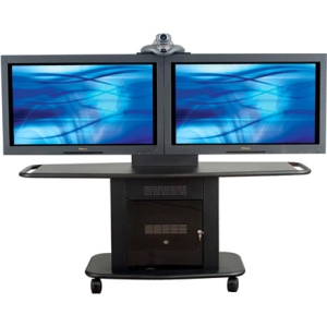 Avteq Dual Display Stand GMP-200L-TT2