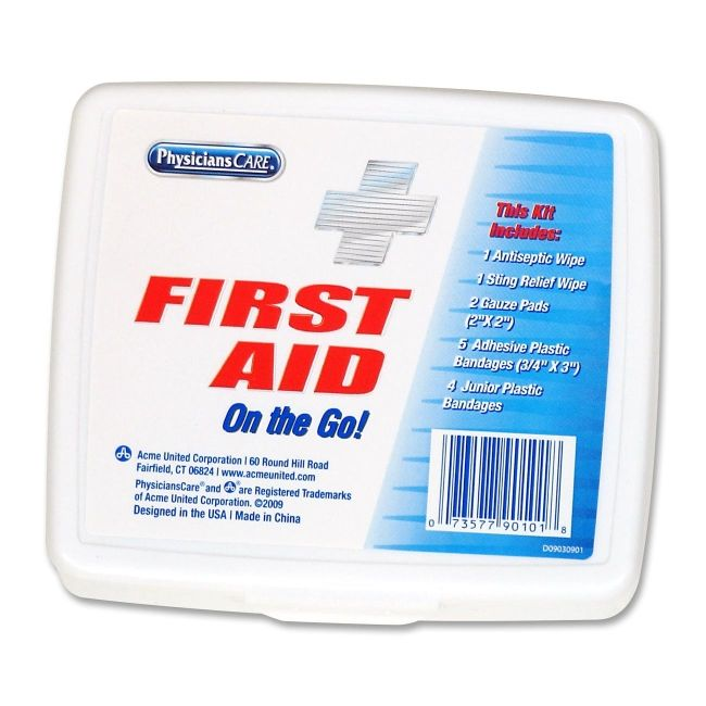 First Aid Kit On The Go Acme United 90101 ACM90101