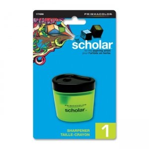 Scholar Portable Pencil Sharpener Sanford LP 1774266 SAN1774266 Battery Operated Pencil Sharpeners