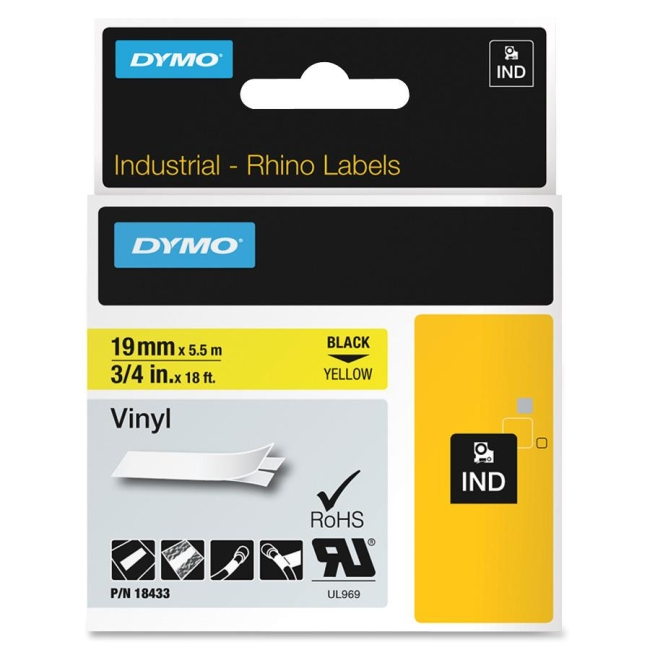 "Dymo 3/4"" (19 mm) Tapes Label 18433"