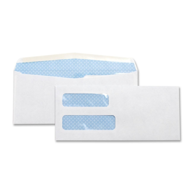Business Source Double Window Envelope 36694