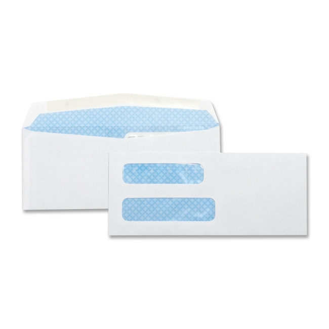 Business Source Double Window Envelope 42204