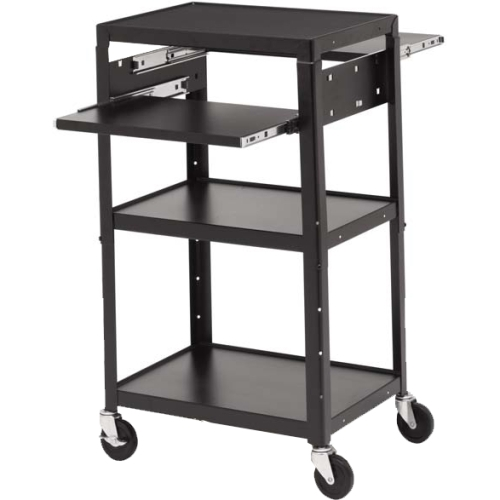 Bretford Basics Multimedia Cart with 6-Outlet Electrical A2642DNS-E5