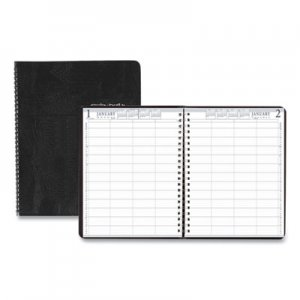 House of Doolittle Four-Person Group Practice Daily Appointment Book, 8 1/2 x 11, Black, 2019 HOD28202 282-02