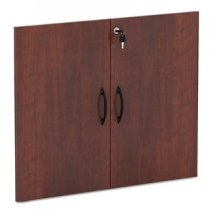 "Alera Valencia Series Cabinet Door Kit For All Bookcases, 31 1/4"" Wide, Cherry ALEVA632832MC"