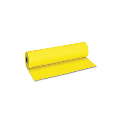 "Pacon Decorol Flame Retardant Art Rolls, 40 lb, 36"" x 1000 ft, Sunrise Yellow PAC101201 5984"