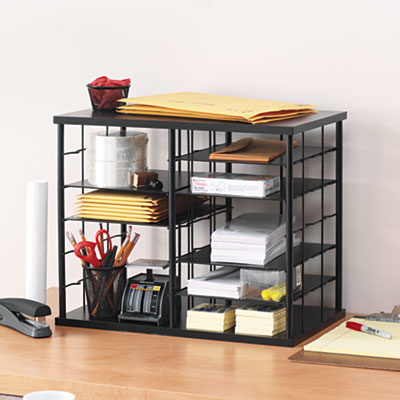 Printer - Rubbermaid desk organizer ...