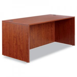 Alera Valencia Series Straight Front Desk Shell, 65w x 29 1/2d x 29 5/8h, Cherry ALEVA216630MC