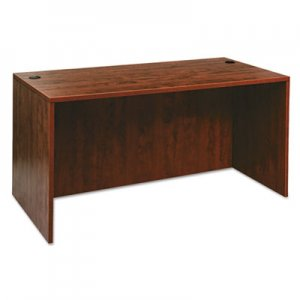 Alera Valencia Series Straight Desk Shell, 59 1/8 x 29 1/2 x 29 5/8, Med Cherry ALEVA216030MC