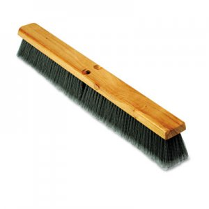 "Boardwalk Floor Brush Head, 3"" Gray Flagged Polypropylene, 24"" BWK20424"