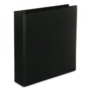 "Genpak Slant-Ring Economy View Binder, 2"" Capacity, Black UNV20745"