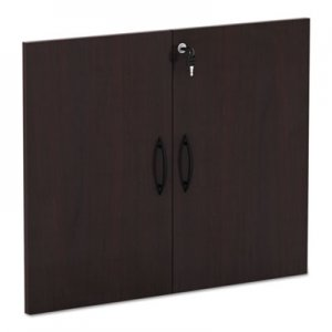 "Alera Valencia Series Cabinet Door Kit For All Bookcases, 31 1/4"" Wide, Mahogany ALEVA632832MY"