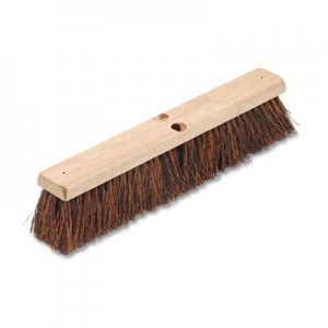 "Boardwalk Floor Brush Head, 3 1/4"" Natural Palmyra Fiber, 18"" BWK20118"