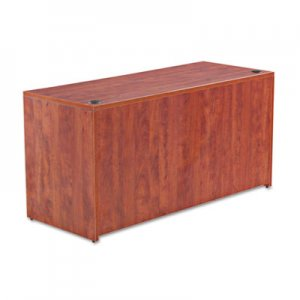 Alera Valencia Series Credenza Shell, 59 1/8w x 23 5/8d x 29 5/8h, Medium Cherry ALEVA256024MC
