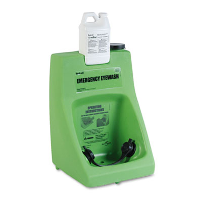 Honeywell Fendall Eyewash Dispenser, Porta Stream Self-Contained Six-Gallon FND320001000000 203-32-000100-0000