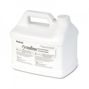 Honeywell Fendall Eyesaline Stream II Eyewash Station Refill, 180 oz Bottles, 4/Carton FND320005130000 320005130000