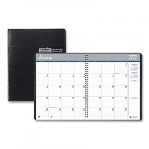 House of Doolittle Recycled Ruled Monthly Planner, 14-Month Dec.-Jan., 8 1/2 x 11, Black, 2018-2020 HOD26202