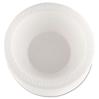 Dart Concorde Foam Bowl, 10 12oz, White, 125/Pack, 8 Packs/Carton 12BWWCR DRC12BWWCR DCC 12BWWCR