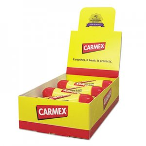 Carmex Moisturizing Lip Balm, Original Flavor, 0.35oz, 12/Box LIL11313 11313