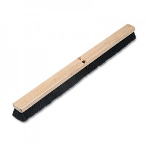 "Boardwalk Floor Brush Head, 2 1/2"" Black Tampico Fiber, 36"" BWK20236"