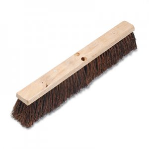 "Boardwalk Floor Brush Head, 3 1/4"" Natural Palmyra Fiber, 24"" BWK20124"