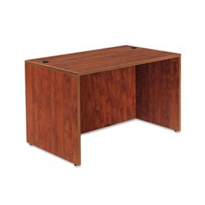 Alera Valencia Series Straight Desk Shell, 47 1/4 x 29 1/2 x 29 5/8, Med Cherry ALEVA214830MC