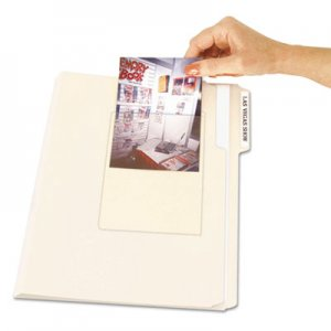 C-Line Peel & Stick Photo Holders for 3-1/2 x 5 & 4 x 6 Photos, 4-3/8 x