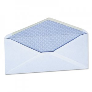 Genpak Security Tinted Business Envelope, #10, 4 1/8 x 9 1/2, White, 500/Box UNV35202