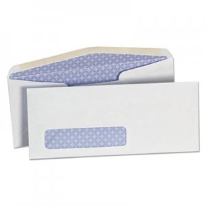 Genpak Security Tinted Window Business Envelope, #10, 4 1/8 x 9 1/2, White, 500/Box UNV35203