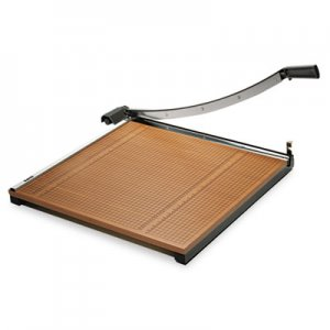"X-ACTO Square Commercial Grade Wood Base Guillotine Trimmer, 20 Sheets, 24"" x 24"" EPI26624 26624"