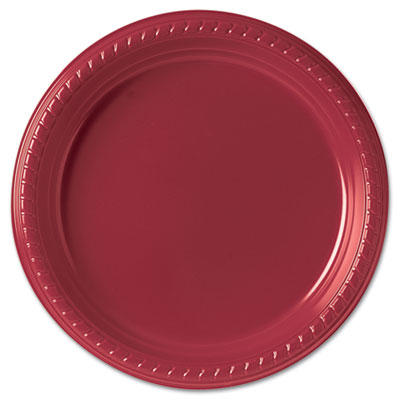 "SOLO Cup Company Plastic Plates, 9"", Red, 500/Carton SCCPS95R0099CT PS95R-0099"