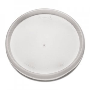 Dart Plastic Lids, for 8, 12, 16oz Hot/Cold Foam Cups, Vented, 1000/Carton DCC20JL 20JL
