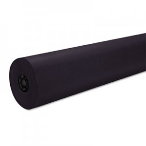 "Pacon Decorol Flame Retardant Art Rolls, 40 lb, 36"" x 1000 ft, Black PAC101209 01209"