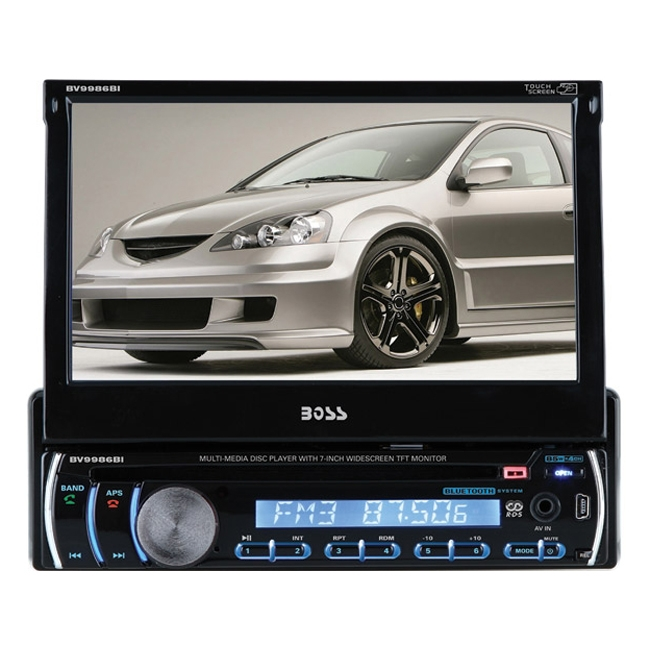 Boss Audio Car DVD Player BV9986BI