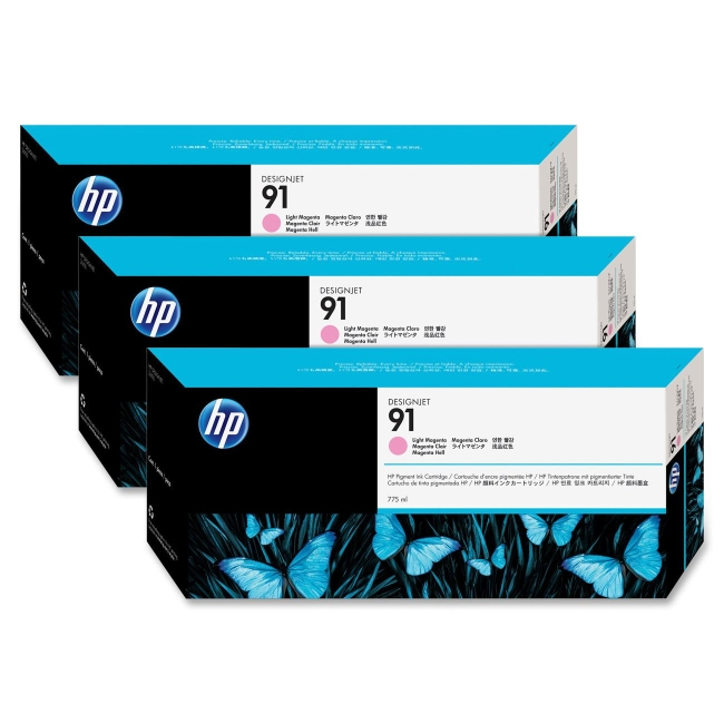 HP Multipack Light Magenta Ink Cartridge C9487A 91
