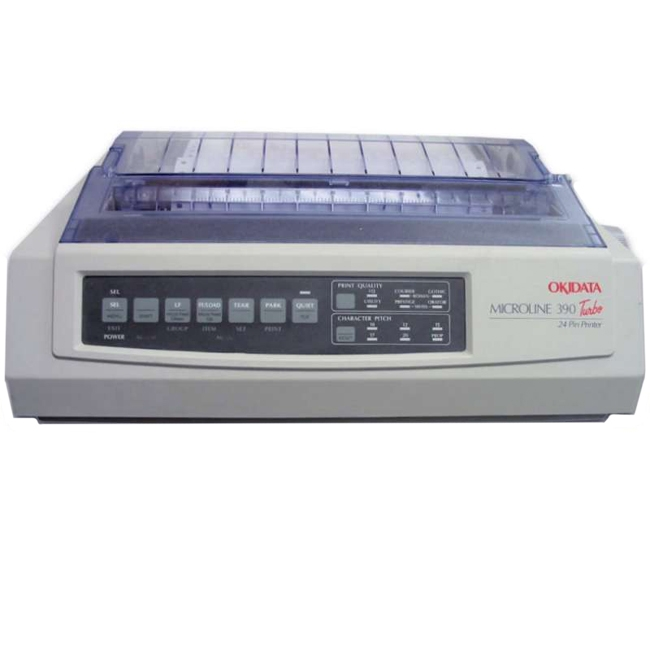 Oki MICROLINE Turbo Dot Matrix Printer 62411901 390