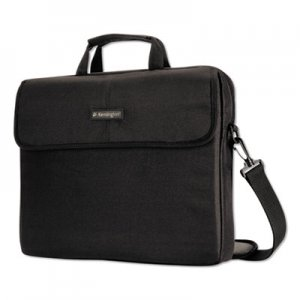 "Kensington 17"" Laptop Sleeve, Padded Interior, Interior/Exterior Pockets, Black KMW62567 62567"