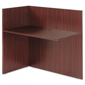 Alera Valencia Reversible Reception Return, 44w x 23 5/8d x 41 1/2h, Mahogany ALEVA324424MY