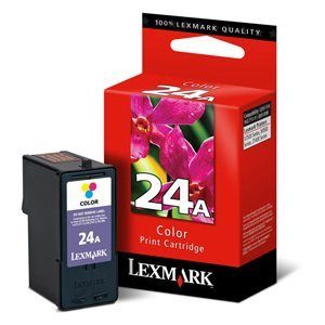 Lexmark #24A Color Ink Cartridge 18C1624 No. 24A