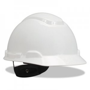 3M H-700 Series Hard Hat with 4 Point Ratchet Suspension, White MMMH701R H-701R