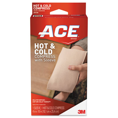 Ace Reusable Cold/Hot Compress, 4 x 10 MMM207518 207518