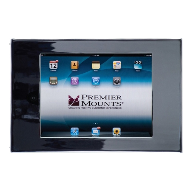 Premier Mounts Secure iPad Mounting Frame with Access to Home Button IPM-710