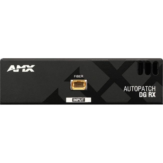 AMX DGX AVB-RX-DGX-SC FIBER-HD15 Video Receiver Audio Extender FG1010-400-01
