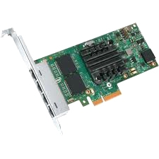 Intel Ethernet Server Adapter I350F4BLK I350-F4