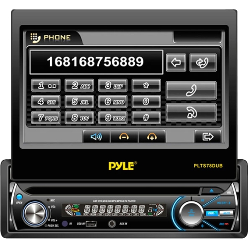 Pyle Car DVD Player PLTS78DUB