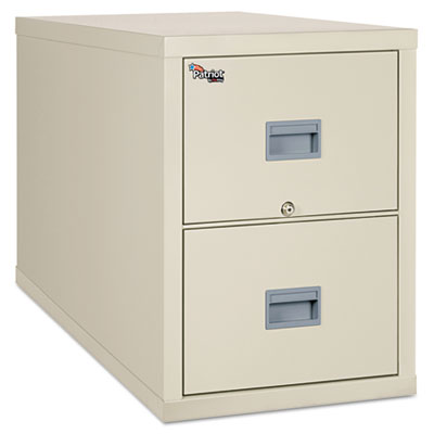 FireKing Patriot Insulated Two-Drawer Fire File, 20-3/4w x 31-5/8d x 27-3/4h, Parchment FIR2P2131CPA