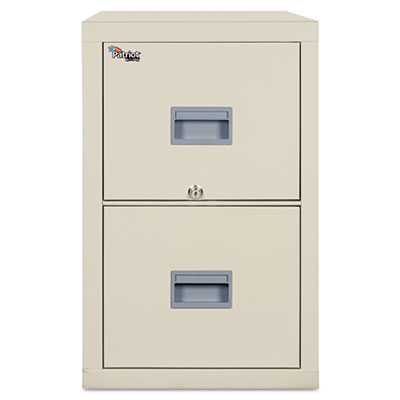FireKing Patriot Insulated Two-Drawer Fire File, 17-3/4w x 31-5/8d x 27-3/4h, Parchment FIR2P1831CPA