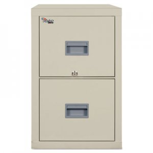 FireKing Patriot Insulated Two-Drawer Fire File, 17-3/4w x 25d x 27-3/4h, Parchment FIR2P1825CPA 2P1825-CPA